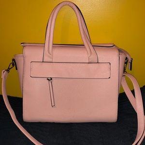 Handbags - Women's Satchel Handbag - Pink